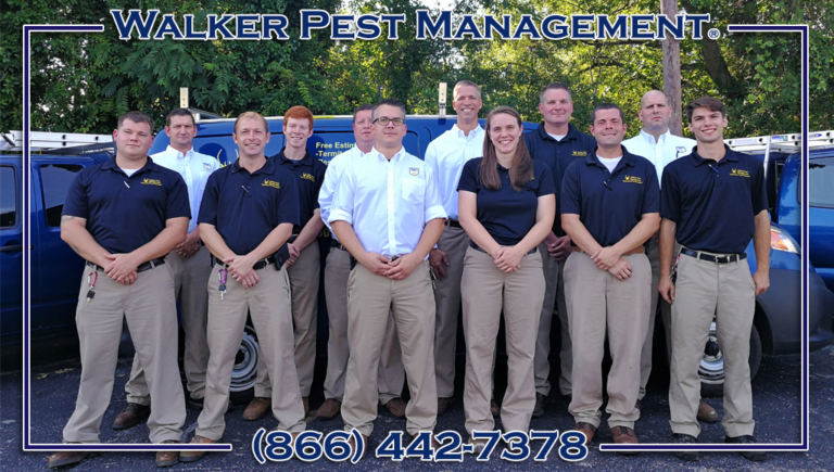 South Carolina Pest Control, Walker Pest Management team picture