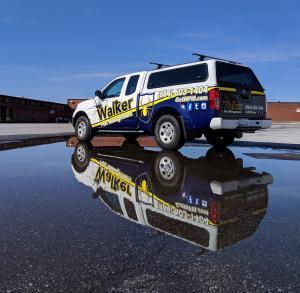 Walker Pest Management's vehicles get a new look!