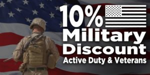 10% Discount On Pest Control Services for Active & Retired Military