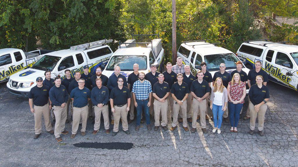 Walker Pest Management Team Photo