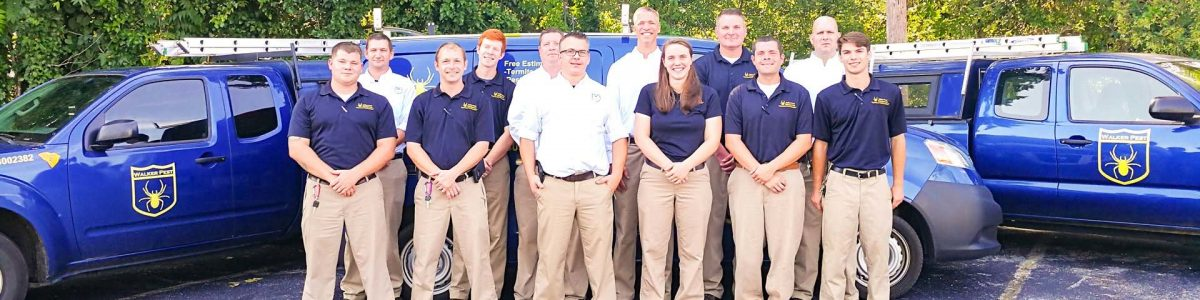 Walker Pest Management Team Photo